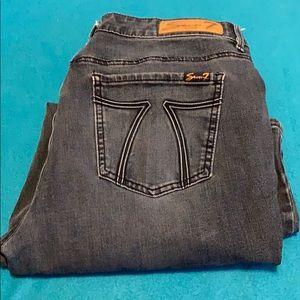 Seven7 jeans sz 14 skinny fit